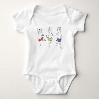 Ballet Trio Baby Bodysuit