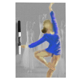 Ballet Turn Art Dry Erase Board