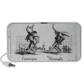 Balli de Sfessania, c.1622 Laptop Speaker