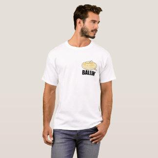 Ballin' Ball Python Pocket T-Shirt