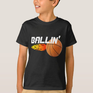 Ballin' Basketball T-shirt