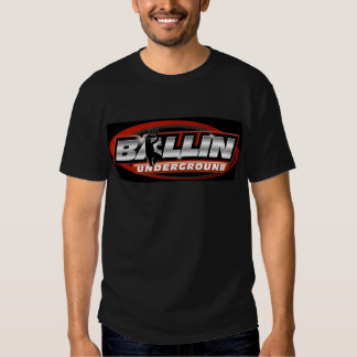 BallinUnderground.com - Black Logo Tshirt