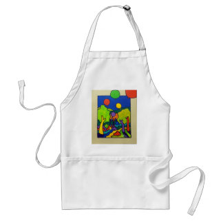Ballons of Spring Standard Apron
