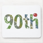 Balloon 90th Birthday Gifts Mouse Pad