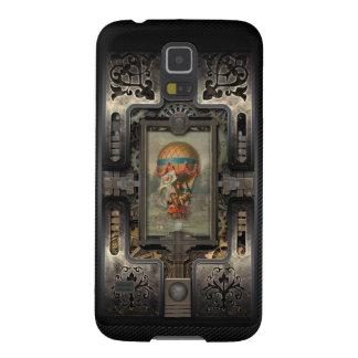 Balloon.Age of Steampunk. Cases For Galaxy S5