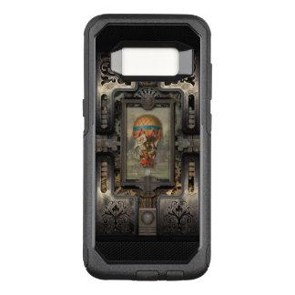 Balloon.Age of Steampunk. OtterBox Commuter Samsung Galaxy S8 Case