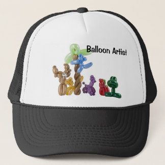balloon animal group, Balloon Artist Trucker Hat