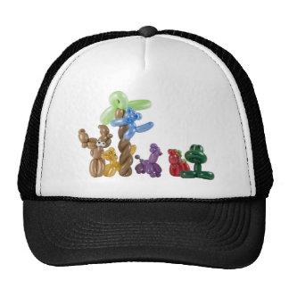 balloon animal group trucker hat
