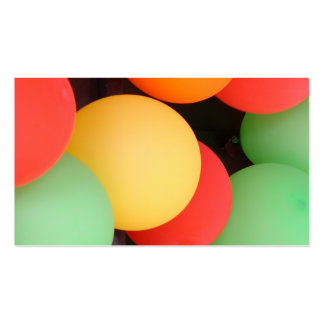 Balloon Background Pack Of Standard Business Cards
