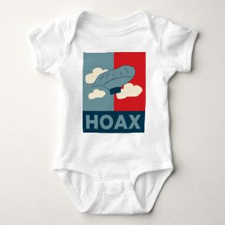 Balloon Boy Hoax (Obama Spoof) Baby Bodysuit