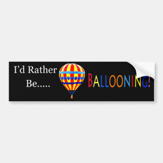 balloon bumper sticker