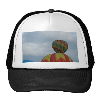 Balloon cloudy day mesh hat