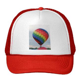 Balloon!   Colorful zigzag! Cap