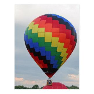 Balloon!   Colorful zigzag! Postcard