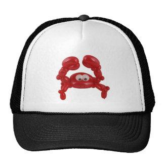 Balloon crab trucker hat