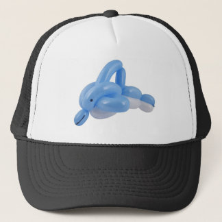 Balloon dolphin trucker hat