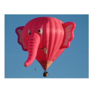 Balloon Elephant Postcard