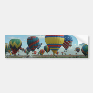 Balloon Fiesta Albuquerque Bumper Sticker