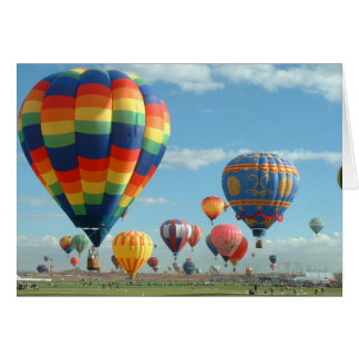 Balloon Fiesta Albuquerque Card