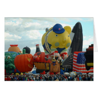Balloon Fiesta Card