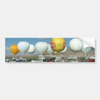 Balloon Fiesta Gas Ballooning Bumper Sticker