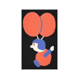 Balloon Fight Canvas Print