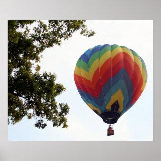 Balloon Flight Poster