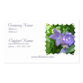 Balloon Flower Business Card