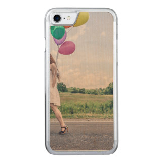 Balloon girl carved iPhone 8/7 case