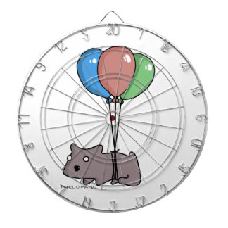 Balloon Hamster Frank by Panel-O-Matic Dartboard