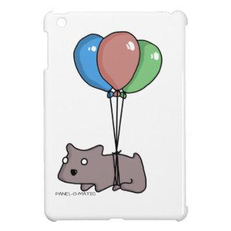 Balloon Hamster Frank by Panel-O-Matic iPad Mini Cases