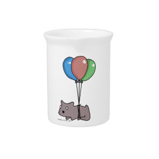 Balloon Hamster Frank by Panel-O-Matic Pitcher