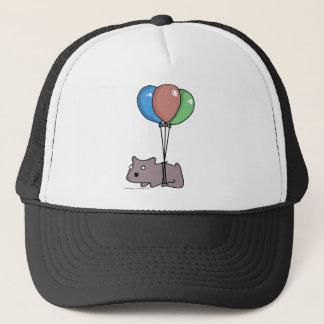 Balloon Hamster Frank by Panel-O-Matic Trucker Hat