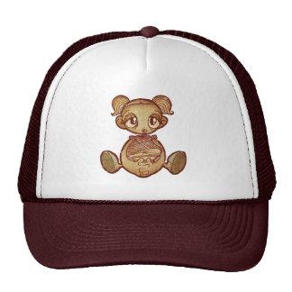 Balloon head girl cap