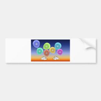 Balloon Heads Bumper Sticker