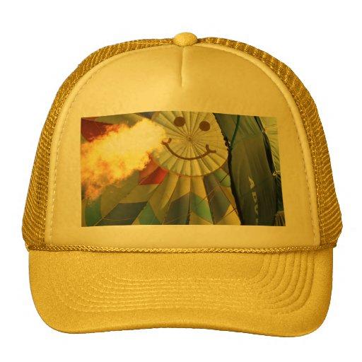 Balloon, Heated Smile! Mesh Hat