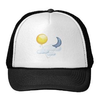 Balloon In Sky Trucker Hat
