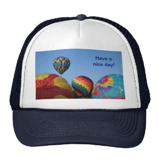Balloon Launch, Gifts and such Cap