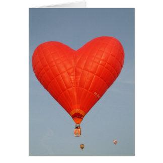 Balloon Love is in the Air Card