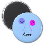 Balloon Love - magnet