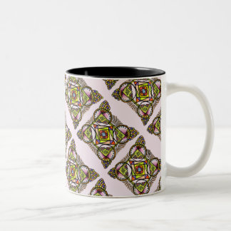 Balloon mandala mug bohemian colorful pattern