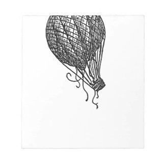 balloon notepad