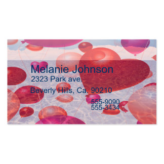 Balloon Ocean Voyage Set Business Card Templates