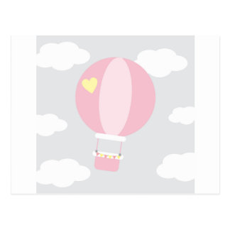 balloon postcard