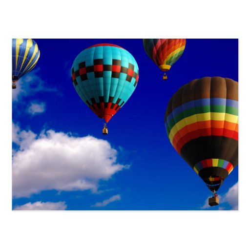 Balloon Race - Postcard