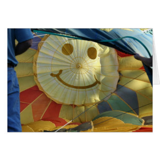 Balloon Smiley Face God Loves You! Greeting Card
