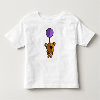 Balloon Teddy Bear Toddler T-Shirt