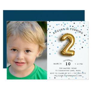 2 Year Old Birthday Invitations Zazzle Au
