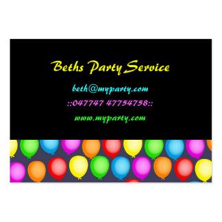 Balloon Wallpaper Business Card