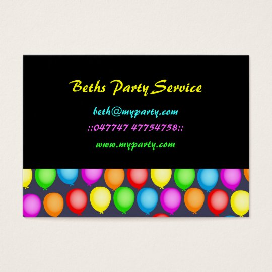 Balloon Wallpaper Business Card